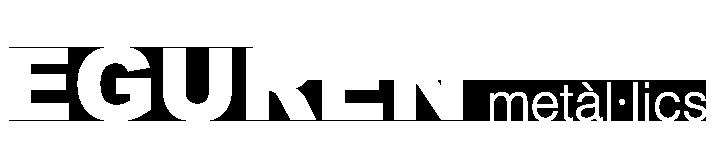 sticky logo eguren metàl·lics